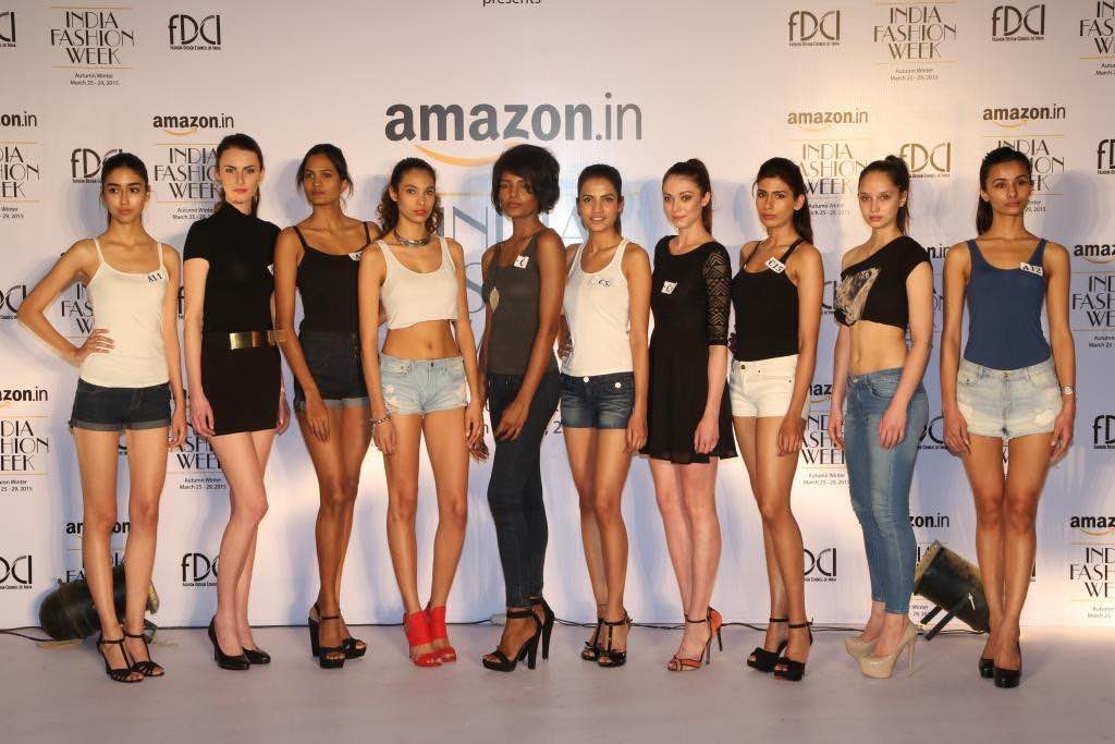 FDCI Does Model Hunt for Amazon India Fashion Week ...