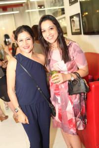 Namrata Joshipura and Nidhi Ahuja